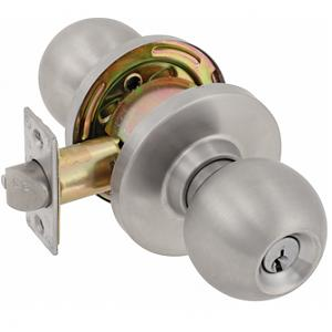 Commercial grade handle lock
