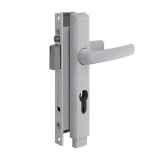 Austral Screen door Lock in White