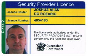 QLD security Licence