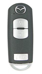 Mazda 3 Smart remote keys Push to start